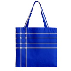 Stripes Pattern Template Texture Grocery Tote Bag