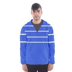 Stripes Pattern Template Texture Hooded Wind Breaker (Men)