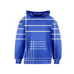 Stripes Pattern Template Texture Kids  Pullover Hoodie