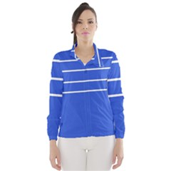 Stripes Pattern Template Texture Wind Breaker (women)