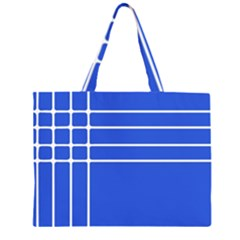 Stripes Pattern Template Texture Large Tote Bag