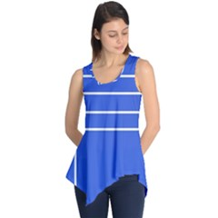 Stripes Pattern Template Texture Sleeveless Tunic