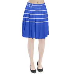 Stripes Pattern Template Texture Pleated Skirt