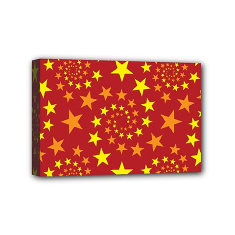 Star Stars Pattern Design Mini Canvas 6  x 4