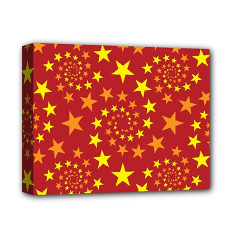 Star Stars Pattern Design Deluxe Canvas 14  x 11