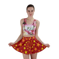Star Stars Pattern Design Mini Skirt