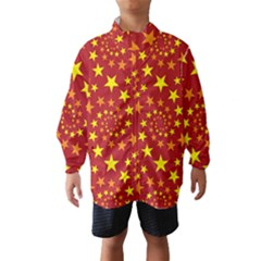 Star Stars Pattern Design Wind Breaker (Kids)