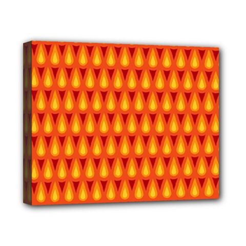 Simple Minimal Flame Background Canvas 10  X 8