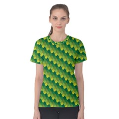 Dragon Scale Scales Pattern Women s Cotton Tee