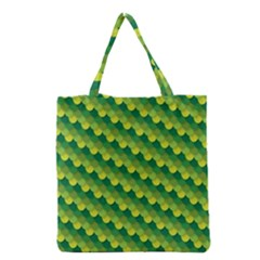 Dragon Scale Scales Pattern Grocery Tote Bag