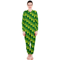 Dragon Scale Scales Pattern OnePiece Jumpsuit (Ladies)