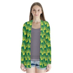 Dragon Scale Scales Pattern Cardigans