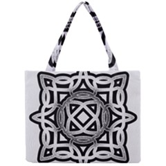 Celtic Draw Drawing Hand Draw Mini Tote Bag