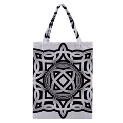 Celtic Draw Drawing Hand Draw Classic Tote Bag