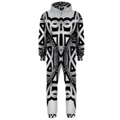 Celtic Draw Drawing Hand Draw Hooded Jumpsuit (men)