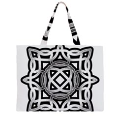 Celtic Draw Drawing Hand Draw Large Tote Bag
