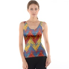 Aztec Traditional Ethnic Pattern Tank Top