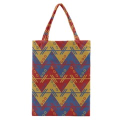 Aztec Traditional Ethnic Pattern Classic Tote Bag