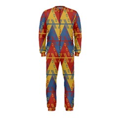 Aztec traditional ethnic pattern OnePiece Jumpsuit (Kids)