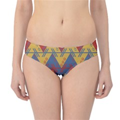 Aztec Traditional Ethnic Pattern Hipster Bikini Bottoms