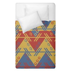 Aztec Traditional Ethnic Pattern Duvet Cover Double Side (single Size)