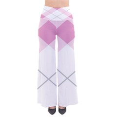 Tablecloth Stripes Diamonds Pink Pants