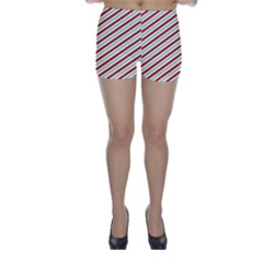 Stripes Striped Design Pattern Skinny Shorts