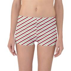 Stripes Striped Design Pattern Boyleg Bikini Bottoms