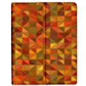 Gold Mosaic Background Pattern Apple iPad 2 Flip Case View1