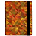 Gold Mosaic Background Pattern Apple iPad 2 Flip Case View2