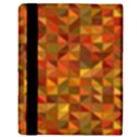 Gold Mosaic Background Pattern Apple iPad 2 Flip Case View3