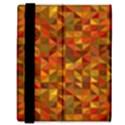 Gold Mosaic Background Pattern Samsung Galaxy Tab 8.9  P7300 Flip Case View3
