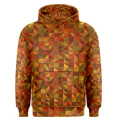 Gold Mosaic Background Pattern Men s Pullover Hoodie