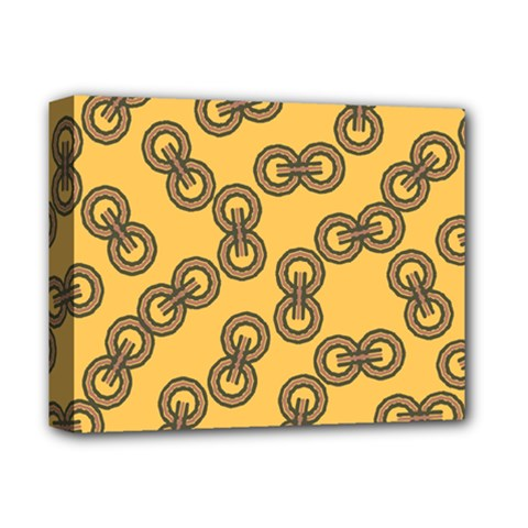 Abstract Shapes Links Design Deluxe Canvas 14  x 11