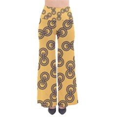 Abstract Shapes Links Design Pants