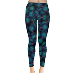Background Abstract Textile Design Leggings