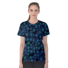 Background Abstract Textile Design Women s Cotton Tee