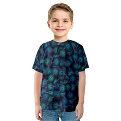 Background Abstract Textile Design Kids  Sport Mesh Tee