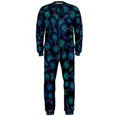 Background Abstract Textile Design Onepiece Jumpsuit (men)