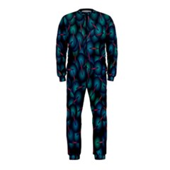 Background Abstract Textile Design Onepiece Jumpsuit (kids)