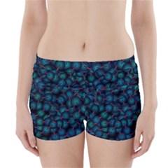 Background Abstract Textile Design Boyleg Bikini Wrap Bottoms