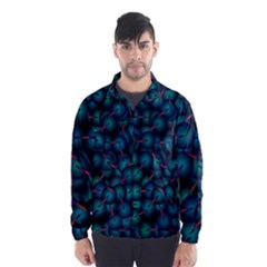 Background Abstract Textile Design Wind Breaker (men)