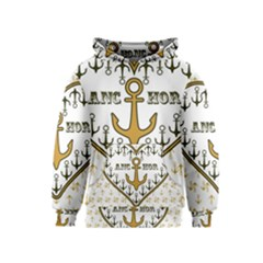 Anchor Heart Kids  Pullover Hoodie