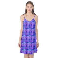 Background Mosaic Purple Blue Camis Nightgown