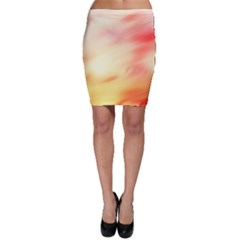 Background Abstract Texture Pattern Bodycon Skirt