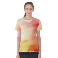 Background Abstract Texture Pattern Women s Cotton Tee