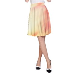 Background Abstract Texture Pattern A-Line Skirt
