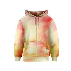 Background Abstract Texture Pattern Kids  Zipper Hoodie