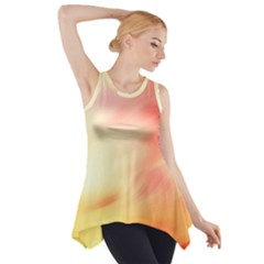 Background Abstract Texture Pattern Side Drop Tank Tunic