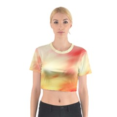 Background Abstract Texture Pattern Cotton Crop Top